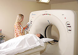 CT Scan in Progress